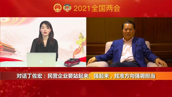 两会访谈|对话丁佐宏:民营企业要站起来、强起来,找准方向强调担当