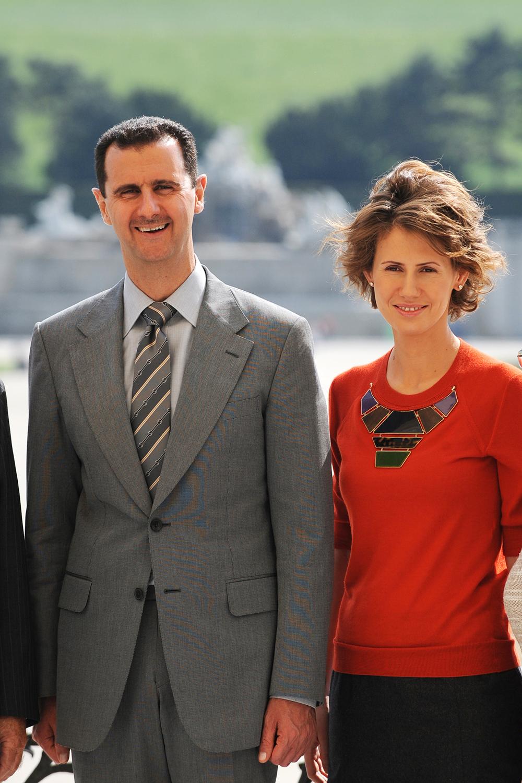 当地时间2021年3月8日报道,叙利亚总统府称叙利亚总统巴沙尔·阿萨德夫妇确认感染新冠病毒。资料图