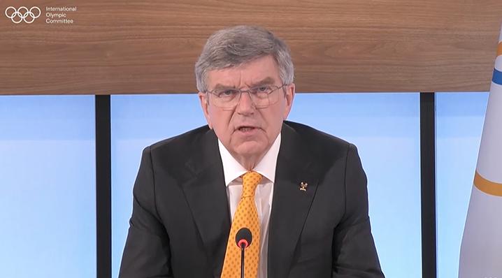 國際奧委會主席巴赫 央視新聞 圖