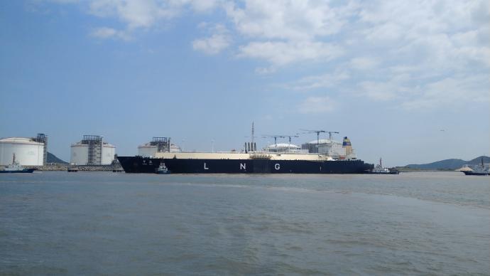 洋山港迎第500艘LNG船,累计输送天然气超400亿立方