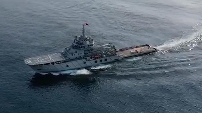 视频|75秒看解放军三大海域练兵火力全开