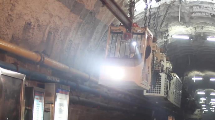 视频 炸药混装车自动装药爆破,未来五年智能煤矿将超一千座