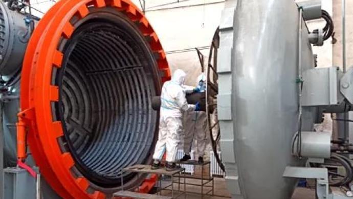 重型火箭新进展|重型氢氧发动机喷管研制成功