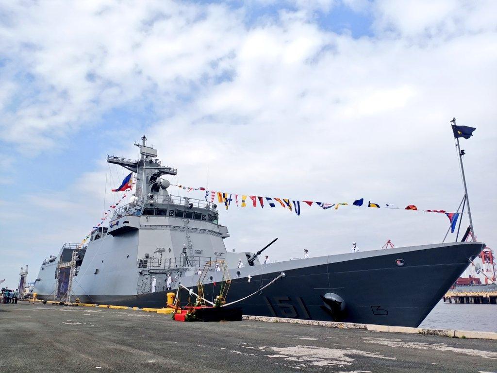 """菲律宾""""安东尼奥·卢纳""""号导弹护卫舰"""