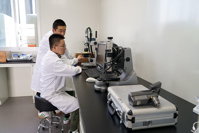 保护平台分析检测室 四川省文物考古研究院供图