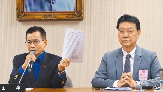 赵少康拒绝接受国民党中评委聘书,或无缘党主席选举