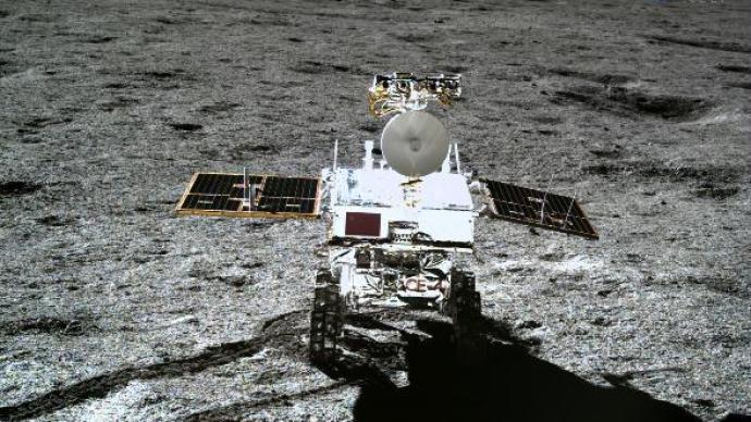 """科研成果揭示:""""玉兔二号""""月球车发现的石块源自芬森撞击坑"""