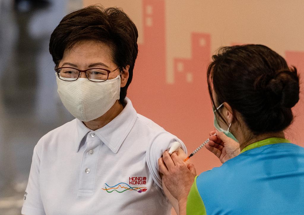 星耀平台登录:今日上午10点,林郑月娥及港府官员将接种第二剂科兴疫苗