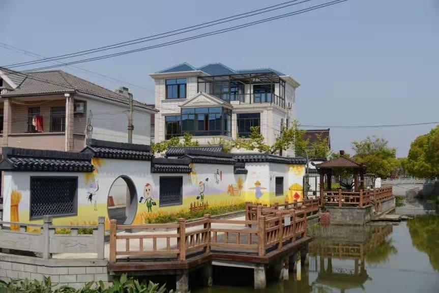 航头镇长达村 上海市水务局供图