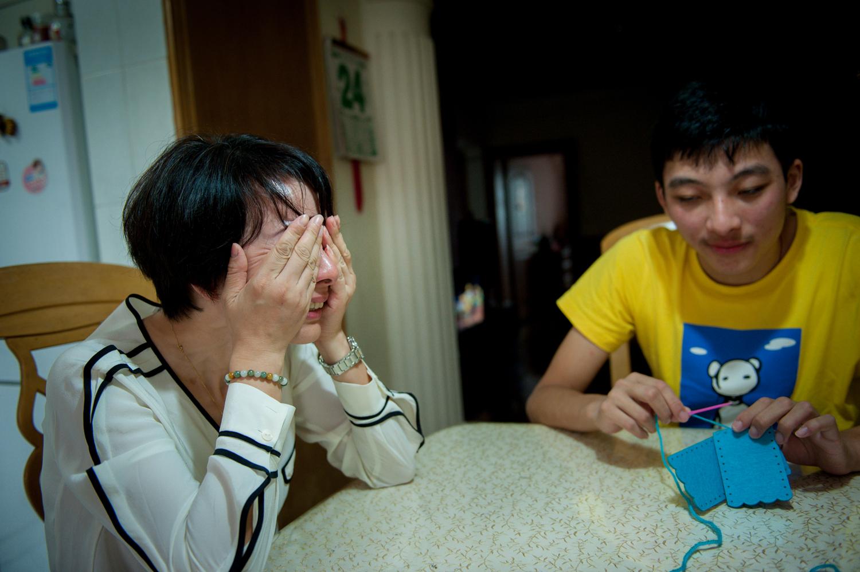 欧易交易平台:看展览 上海自闭症家长探寻一条自救之路