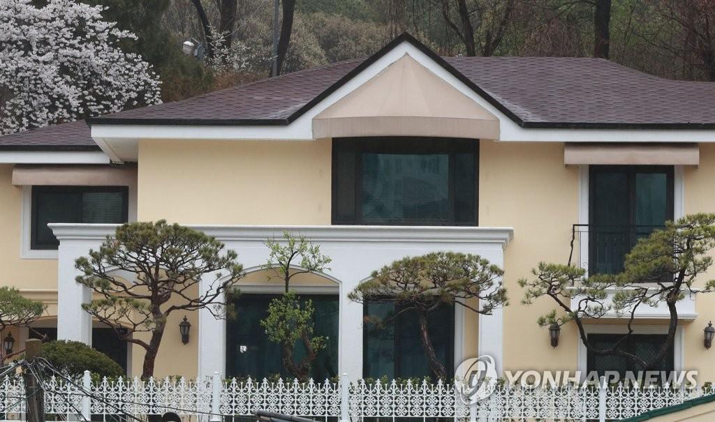 位于首尔瑞草区内谷洞的朴槿惠私宅 韩联社 图