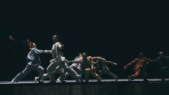 重返舞蹈界,尹昉的新作把《舞蹈风暴》冠军谢欣都难倒了