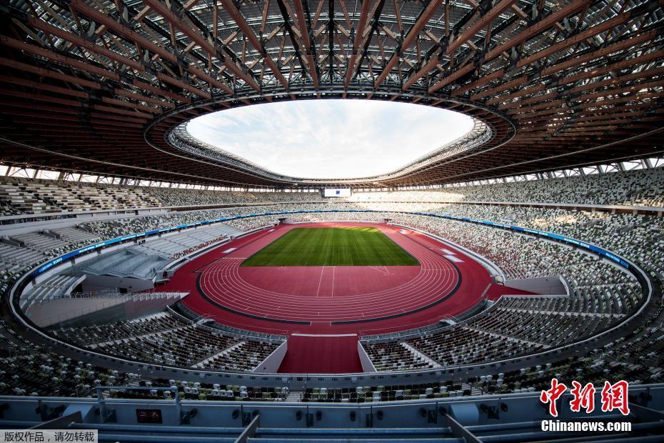 东京奥运会主场馆日本国立竞技场。