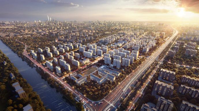 與時代共舞,助大城起勢,演繹2035卓越城市的生活樣本