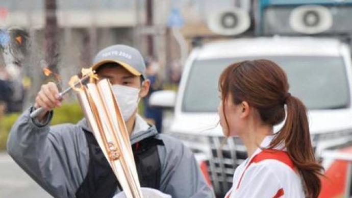 2天圣火熄滅3次,東京奧組委:火炬內置氣瓶事先沒擰緊