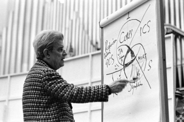 拉康在罗马,1974年。