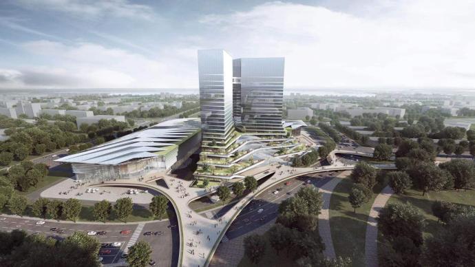臨港新片區9個項目集中開工,含世界頂尖科學家論壇會址
