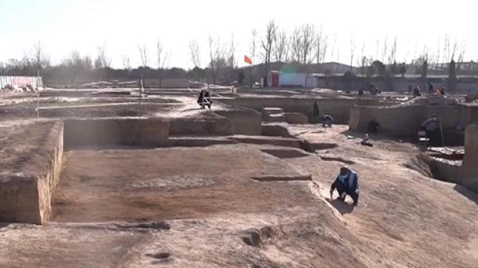 視頻丨最新考古發現:西安鎬京遺址發現周天子使用的宗廟