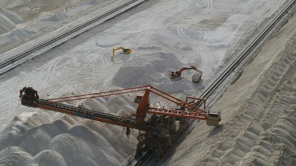 刘窗 锂矿湖与复音孤岛 影像 2020年