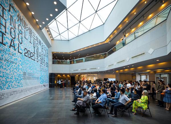 广州影像三年展2021 开幕式现场