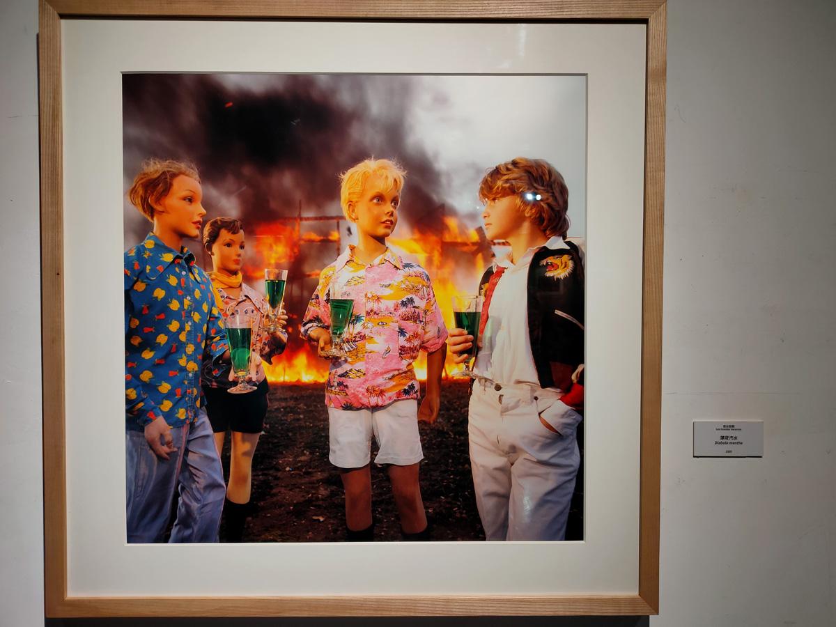 《悠长假期》系列 作品《薄荷汽水》1980