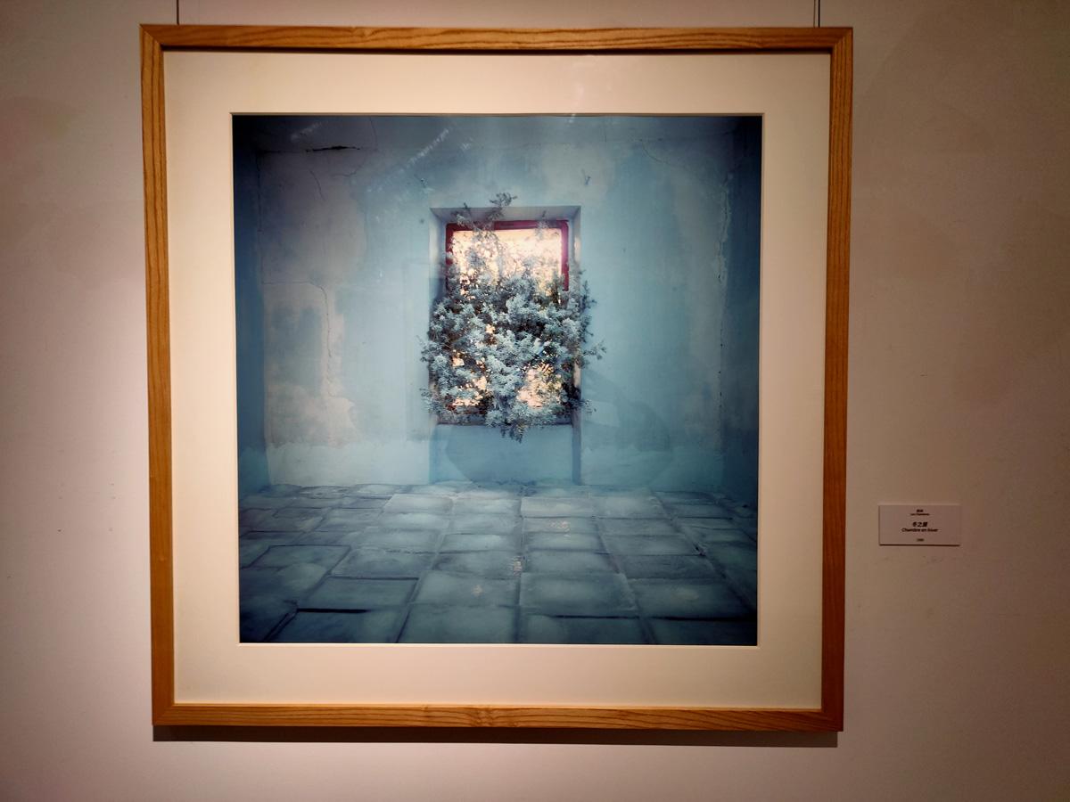 展览现场 房间系列 作品《冬之屋》1986