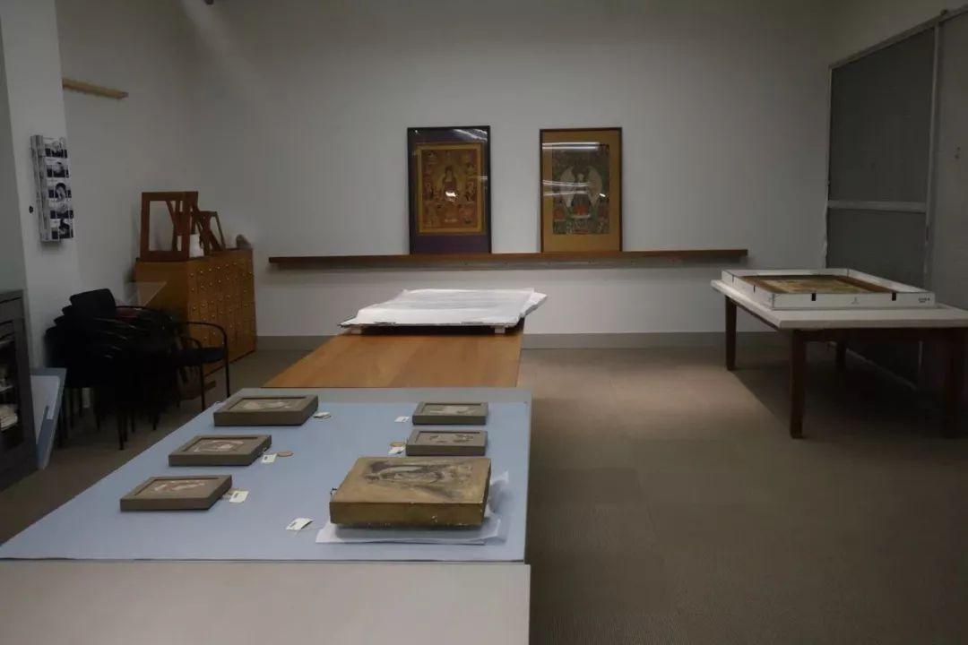 哈佛艺术馆库房调出的展品。图片来自网络