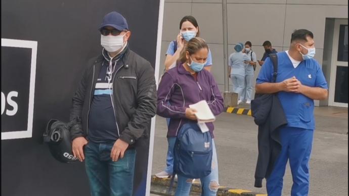 为预防第三波新冠疫情来袭,哥伦比亚收紧防疫措施