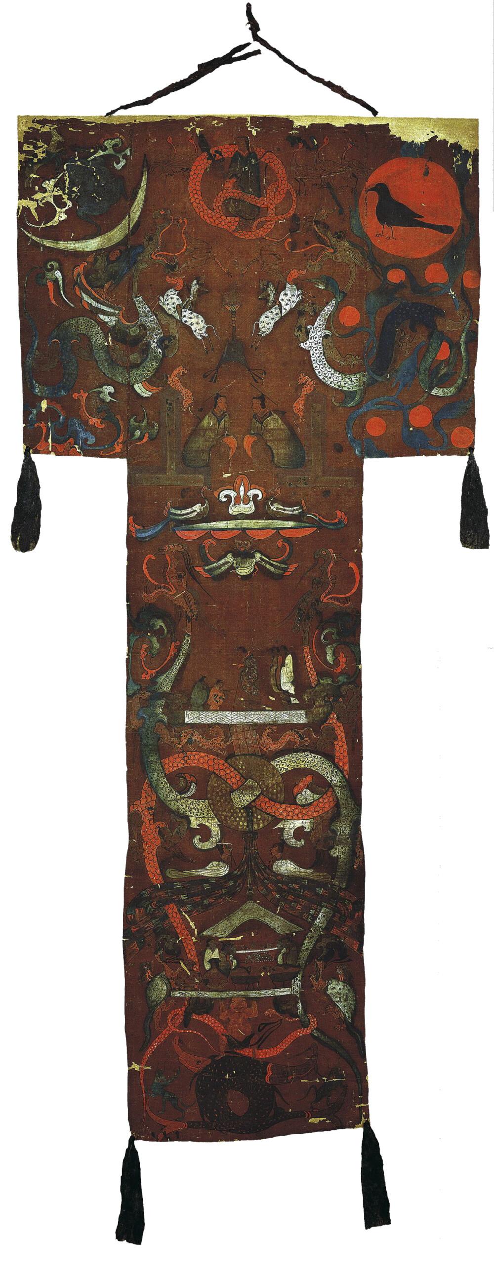 马王堆T形帛画