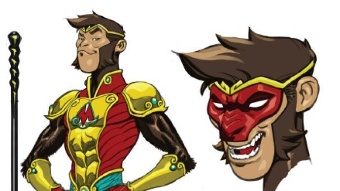 猴王子即将登陆DC宇宙,还有疑似猪八戒形象登场