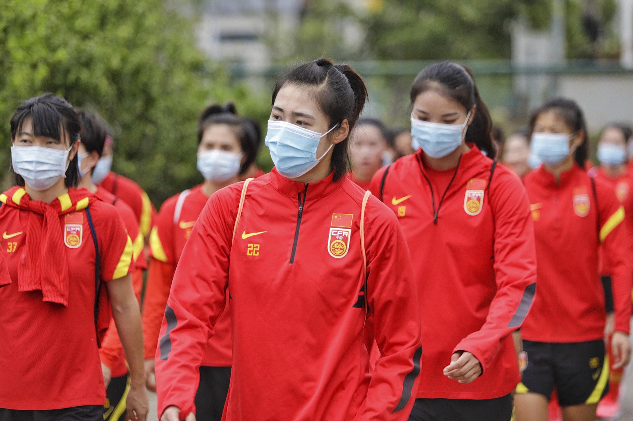 中国女足将面对比赛和防疫的双重考验。