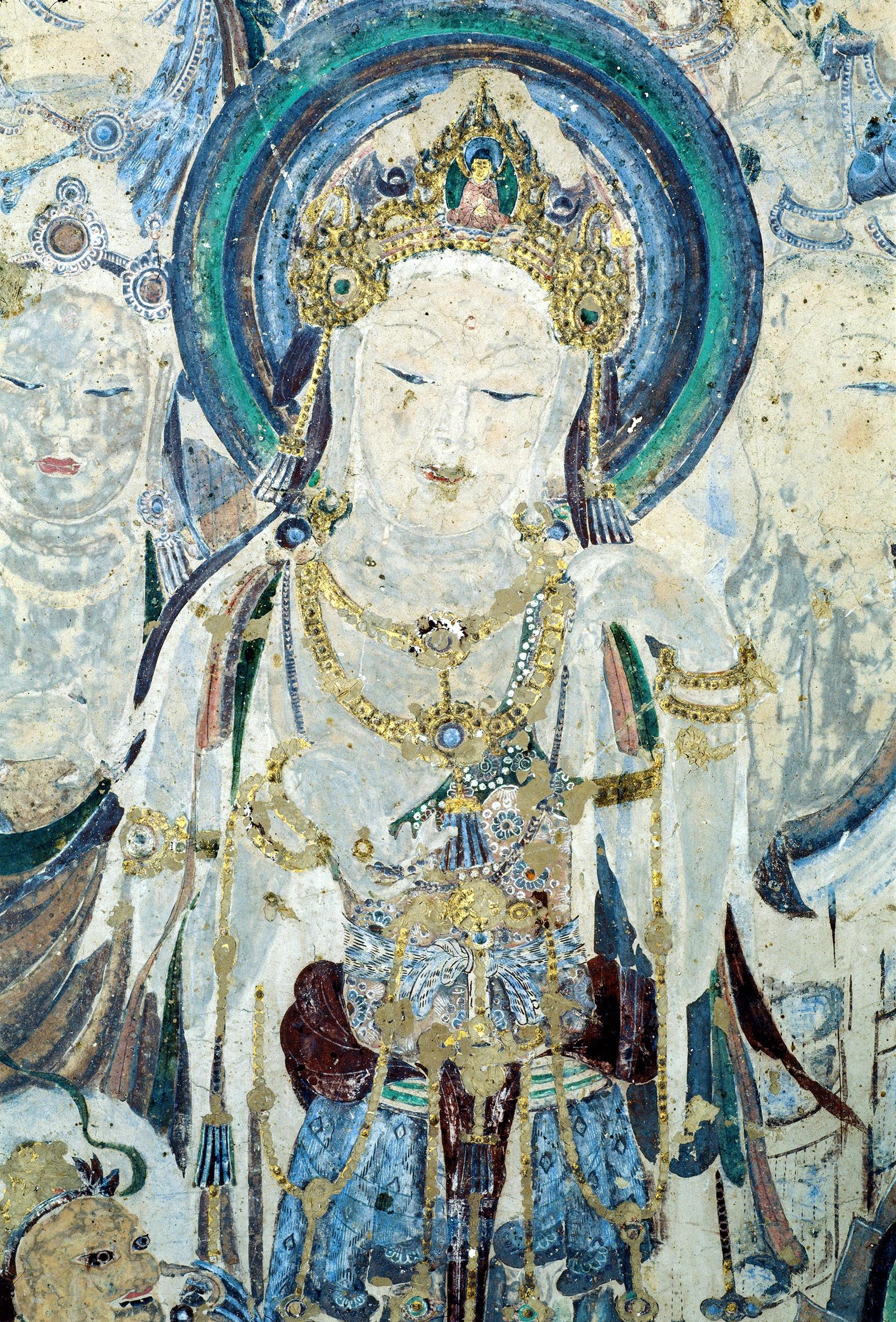 莫高窟第57窟观音菩萨画像