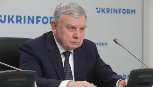 乌克兰国防部部长塔兰 资料图