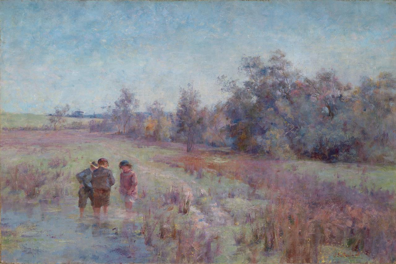 简·萨瑟兰 《田野中的自然主义者》