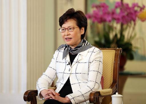 林郑月娥。 新华社资料图