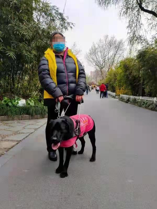 周末,刘桃妹带着查德参加志愿活动。澎湃新闻记者 任雾 实习生 马婕盈 图