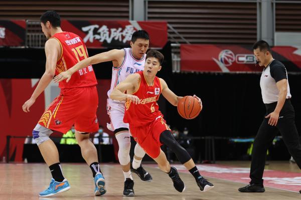 深圳男篮确认了自己的季后赛对手。 CFP 图
