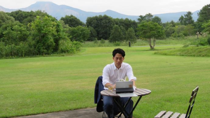 生态之城|在国家公园休假办公:疫情时代日本的新工作模式