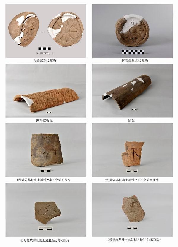 早期遗迹出土的文物