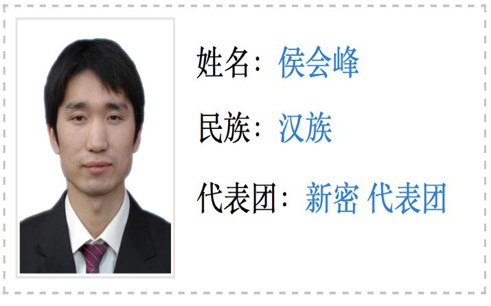 郑州市人大代表侯会峰 郑州市人大官网 图