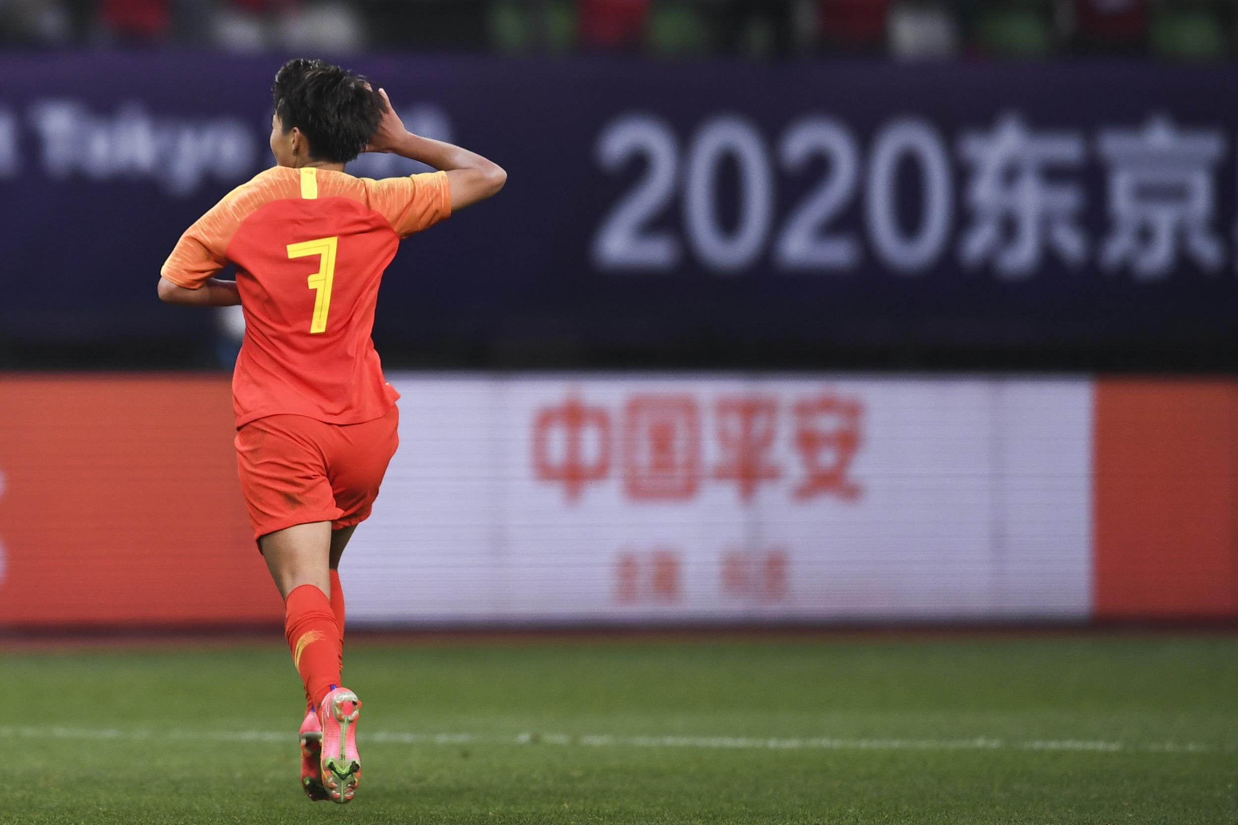 王霜帮助中国女足逃出绝境。