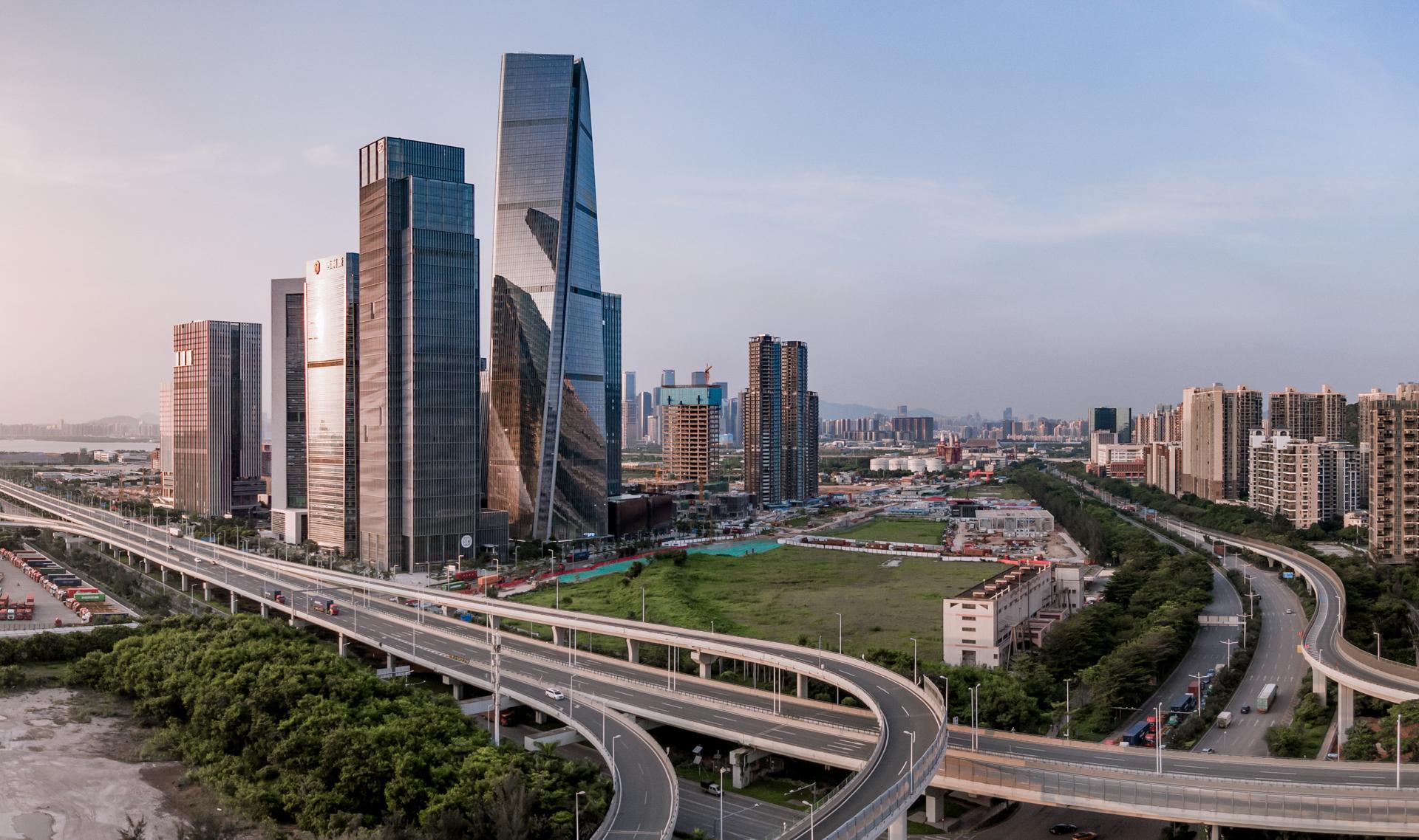 深圳前海世茂大厦实景图