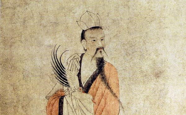 """素有""""山中宰相""""之称的道教宗师陶弘景,近年以来因其所作《答谢中书书》入选初中语文课本而进一步家喻户晓。他曾在梁天监七年至九年(公元508-510年)的三年间隐居于青嶂山。本像据考当为元代书画大家赵孟頫所绘。"""