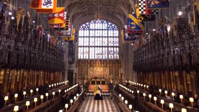 菲利普亲王葬礼在温莎城堡举行,英国全国默哀1分钟