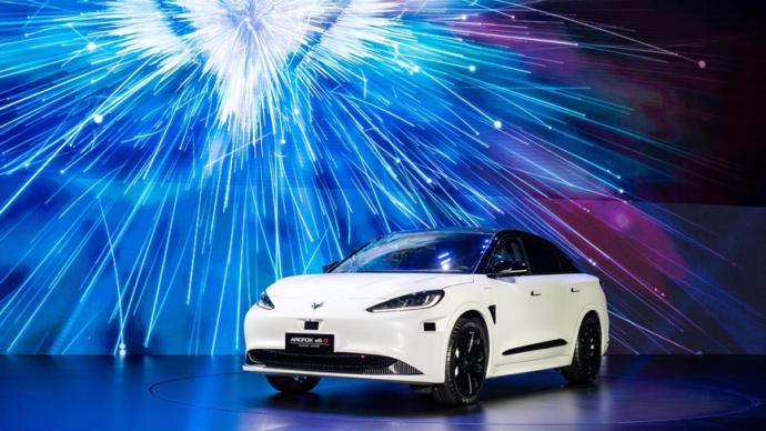 """""""不造车""""的华为,选择了预售价40万元的极狐阿尔法S"""
