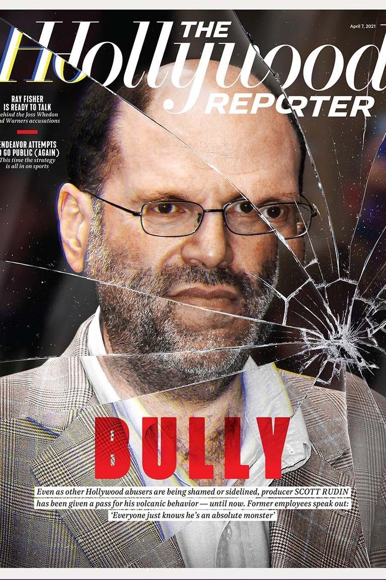《好莱坞记者》杂志以封面专题揭露鲁丁的恶行