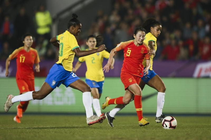 中国队曾在2019年四国邀请赛中点球大战击败过巴西队