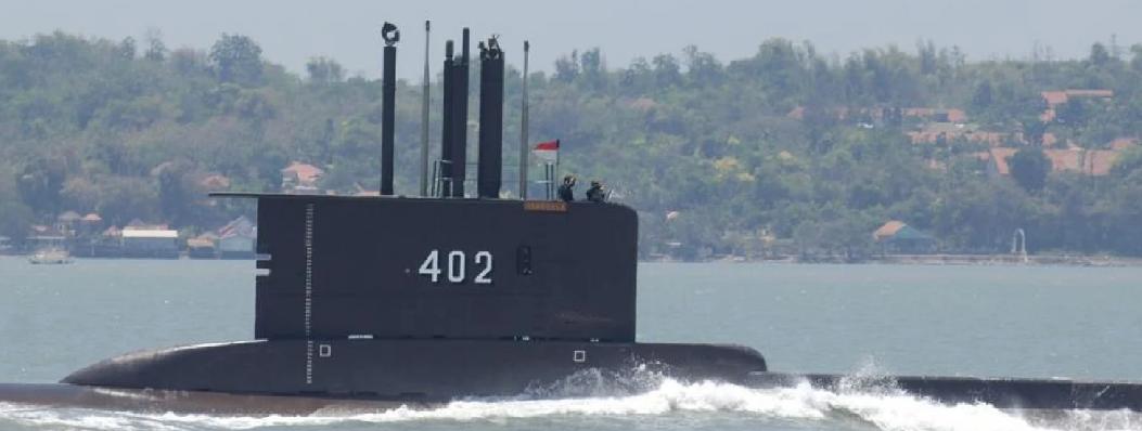 印尼潜艇训练时失踪军事专家:超过潜艇最大潜深凶多吉少