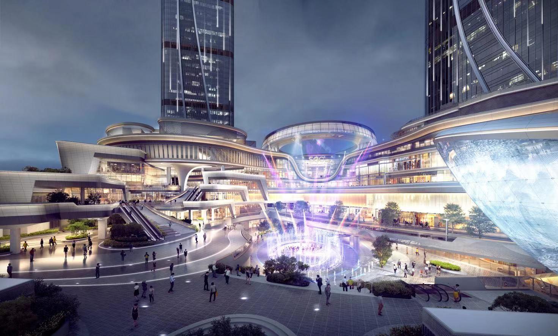 深圳世茂深港国际中心SCC mall效果图