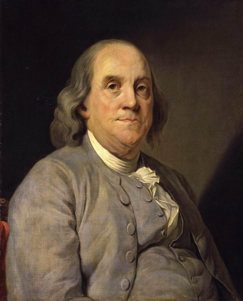 本杰明·富兰克林(1706-1790)